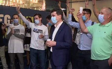 Nicușor Dan a câștigat Primăria Capitalei, la alegerile locale 2020