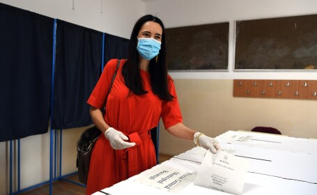 Clotilde Armand, candidat pentru functia de primar al Sectorului 1 al Capitalei, din partea Aliantei USR-PLUS si PNL