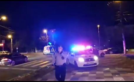Incident sângeros la Galați, peste drum de sediul Poliției. Ce s-a întâmplat