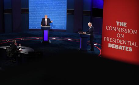Alegeri SUA 2020. Prima dezbatere dintre Donald Trump și Joe Biden, marcată de haos și atacuri dure - 11