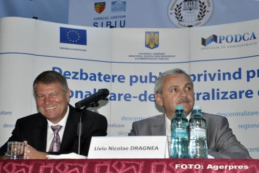 Klaus Iohannis, Liviu Dragnea