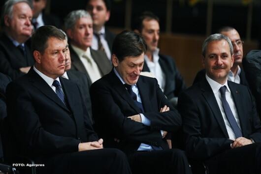 Klaus Iohannis, Liviu Dragnea, Crin Antonescu