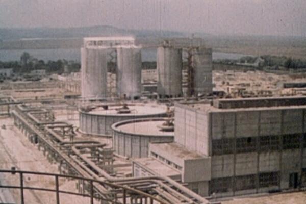 Termocentrala de la Anina, ruine, muncitori - 14