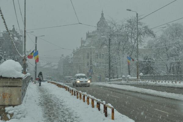 iarna ninsoare ger