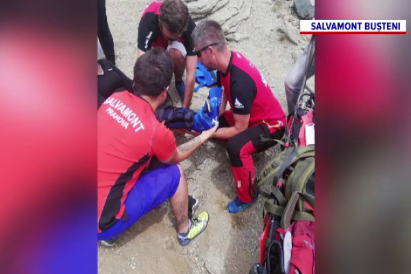 O turistă din Slovenia echipată necorespunzător a suferit o accidentare gravă, lângă Sfinx