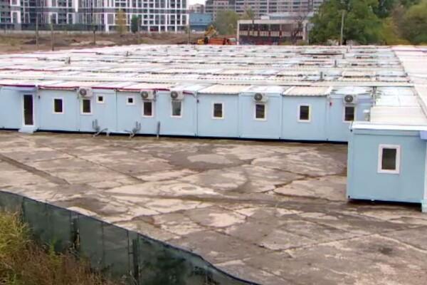 S-au redeschis spitalele modulare din Pipera și Lețcani. Sunt aduși pacienții cu necesar de oxigen