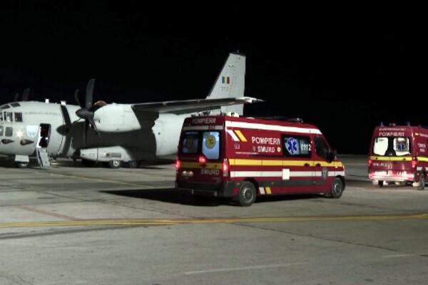 """Primii pacienți critici cu SARS-COV-2 au ajuns în Ungaria. Ministru: """"Acesta este ajutorul pe care îl putem da acum României"""""""