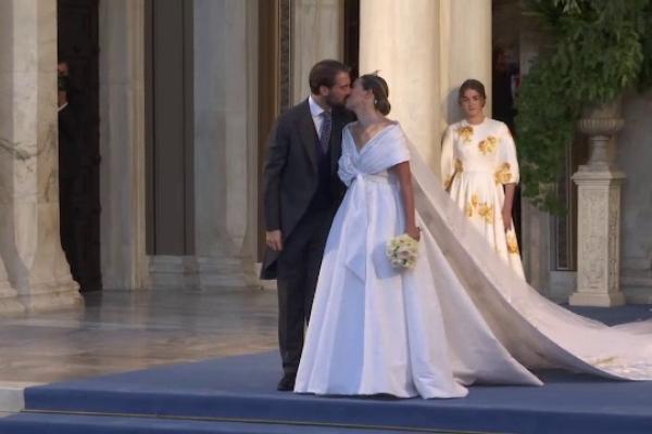 Au bătut clopote de nuntă în capitala Greciei. Prinţul Filip s-a căsătorit cu aleasa inimii sale
