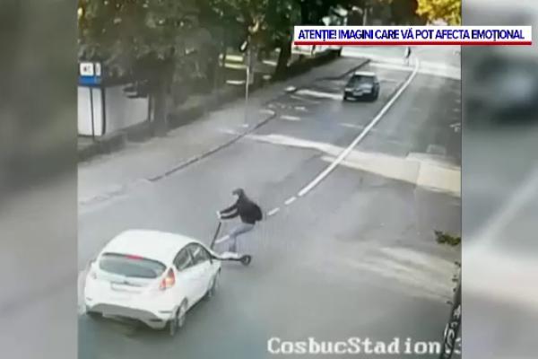 Sute de răniți din cauza inconștienților cu trotinete electrice. În România, se vând la liber și cele care prind 100 km/h