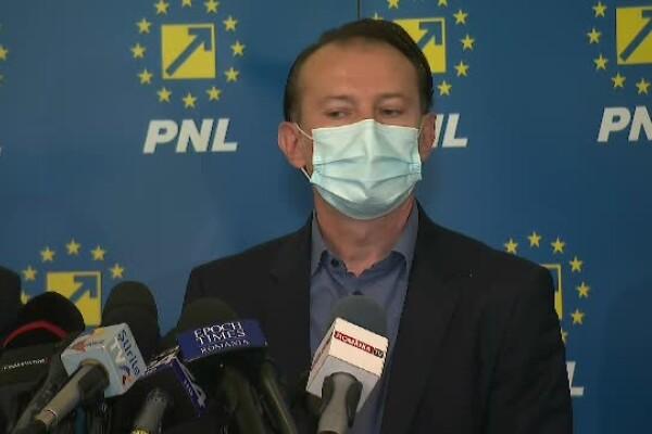 Florin Cîțu: PNL îi solicită lui Dacian Cioloș să discute în primul rând cu PSD și AUR