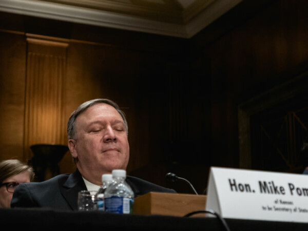 Mike Pompeo, la audierea in senat