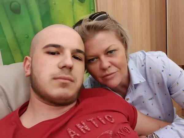 Andrei, tanar cu o forma rara de cancer