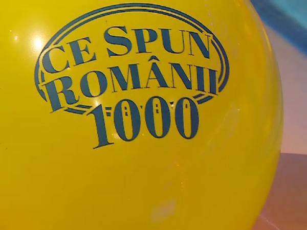 "Ediție aniversară la ""Ce spun Românii"""