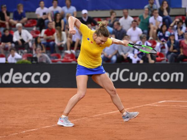 Fed Cup România - Franța