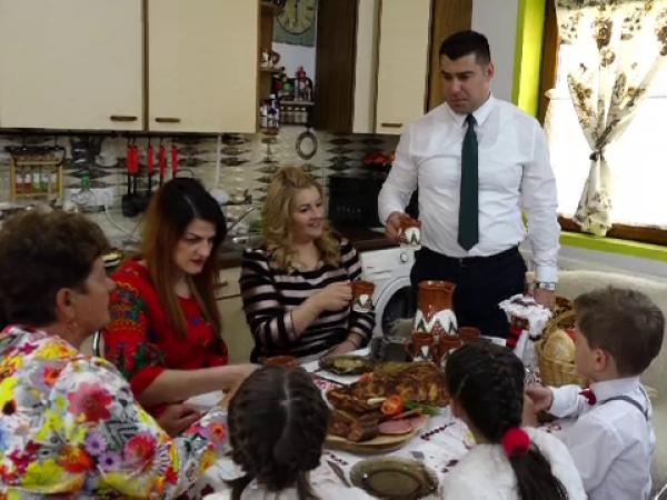 Sărbătorile de Paște, în familiile maramureșene
