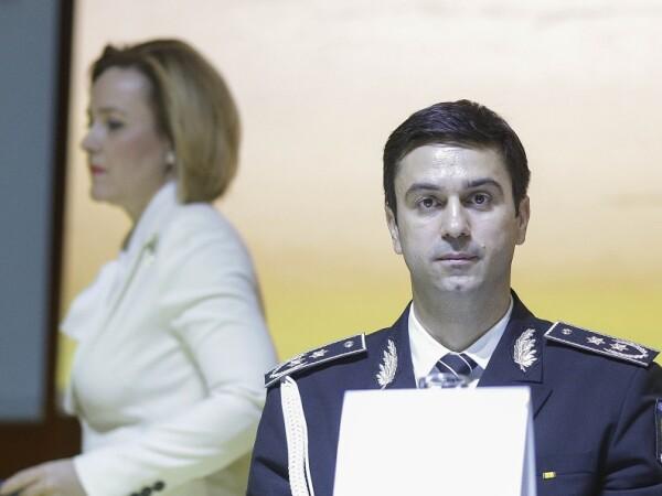 Ministrul Carmen Daniela Dan si Catalin Ionita