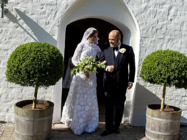 Anders Holch Povlsen la nunta