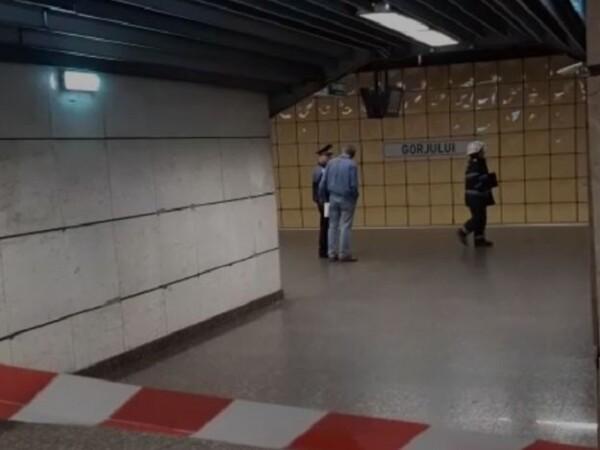 Sinucidere la metrou, în stația Gorjului