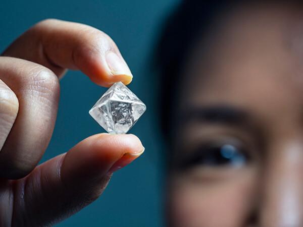 Un diamant rar a fost descoperit într-o mină din Australia