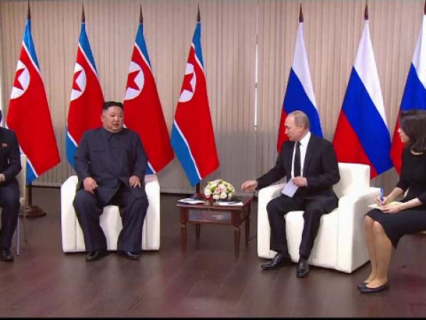 Kim Jong-un, Vladimir Putin