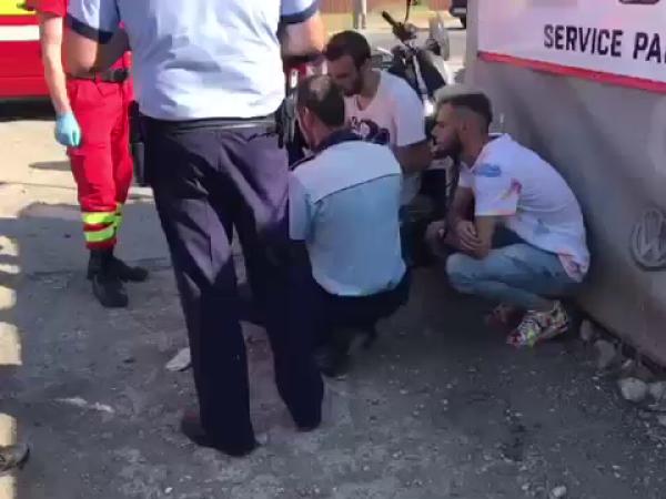 Greșeala unui motociclist de 21 de ani din Mioveni