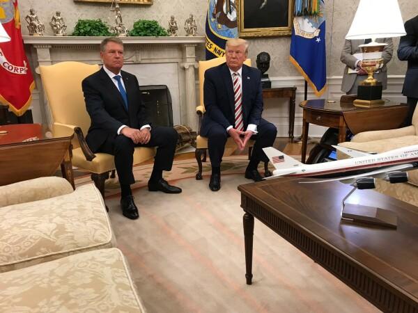 Donald Trump şi Klaus Iohannis