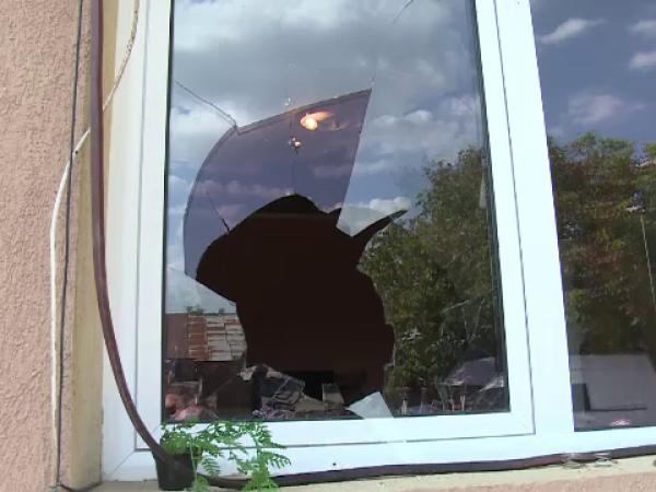 Jaf urmat de un incendiu în Dâmbovița