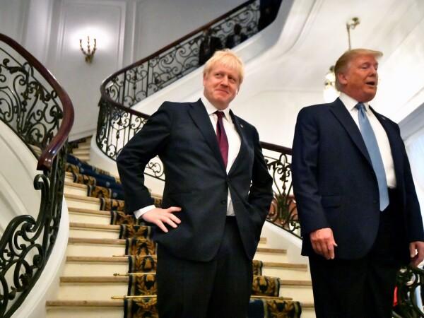 Donald Trump si Boris Johnson