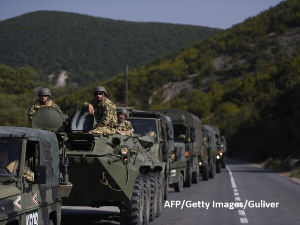 KFOR, Kosovo - Getty
