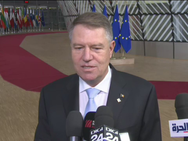 klaus iohannis, theresa may, intalnire,