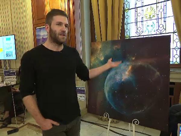 tablou cu cristale Swarowski