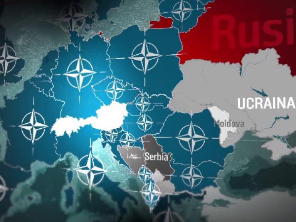 NATO Rusia harta