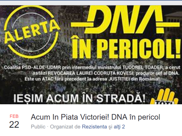 Protest DNA