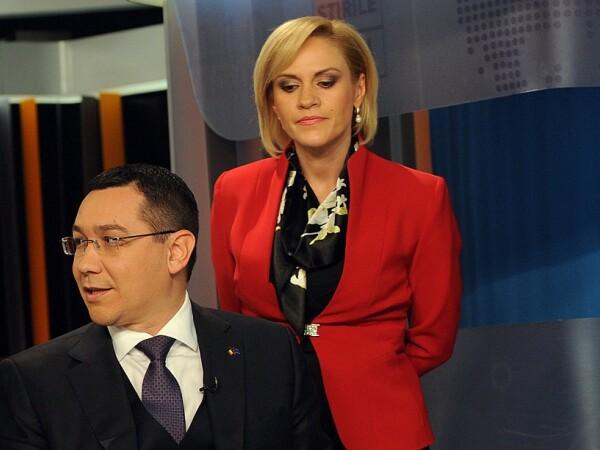 Victor Ponta si Gabriela Firea