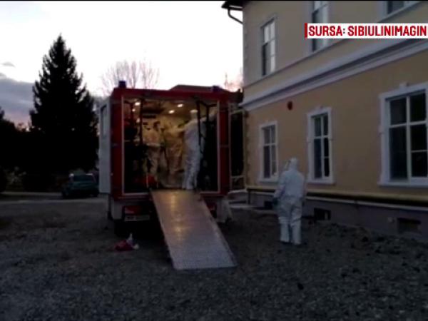 Italian venit în România de la Veneția, internat cu febră la Sibiu