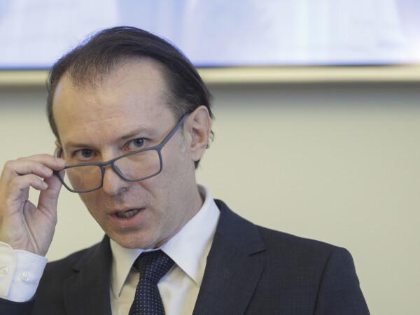 Premierul desemnat Florin Cîţu