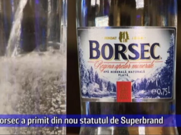 (P) Borsec a primit din nou statutul de Superbrand