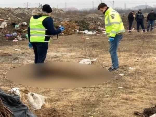 Rămășite umane aruncate pe un câmp din Timișoara