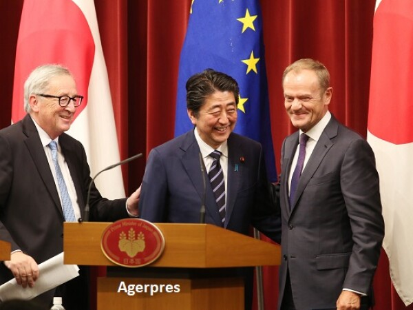 Acord UE-Japonia - AFP/Getty
