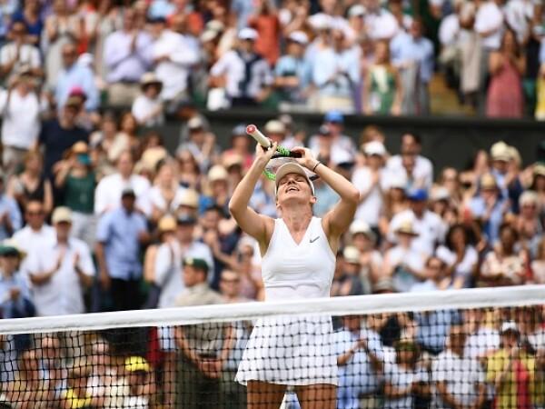 Simona Halep, calificată în premieră în finala turneului de la Wimbledon