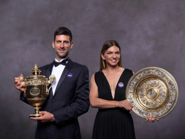Simona Halep si Novak Djokovic