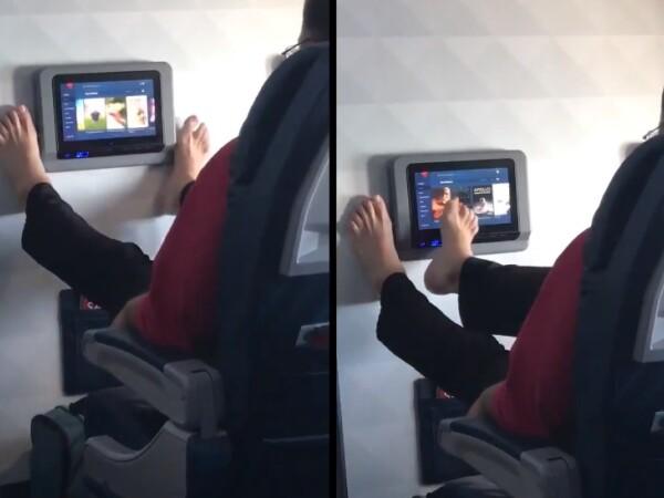 Imagini revoltătoare surprinse în avion. Cum este pusă în pericol sănătatea pasagerilor