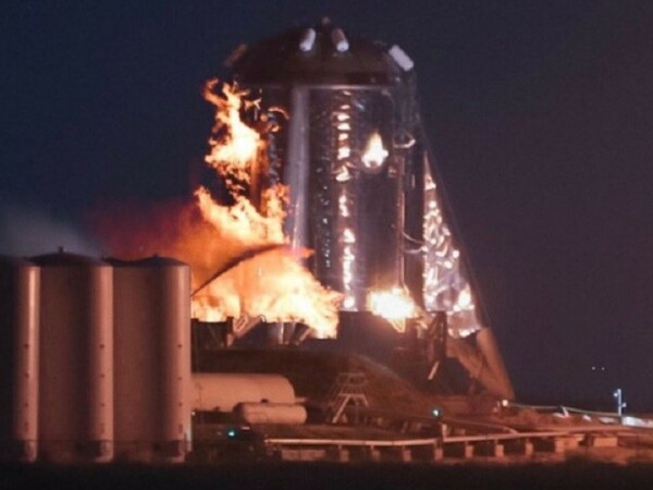 spacex, nava, starhopper, test, explozie, foc