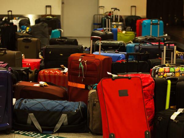 Bagaje in aeroport