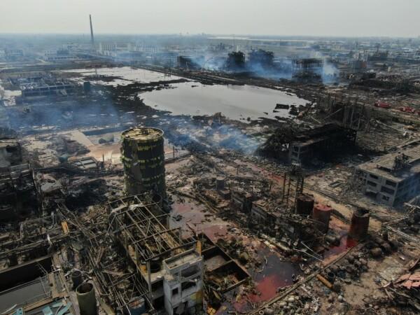 China, explozie