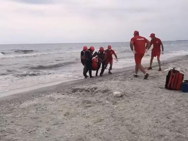 Un chinez a murit înecat la Mangalia