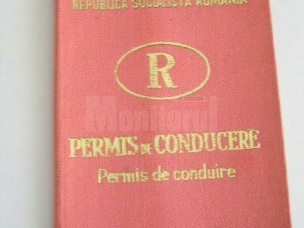 permis republica socialista romania