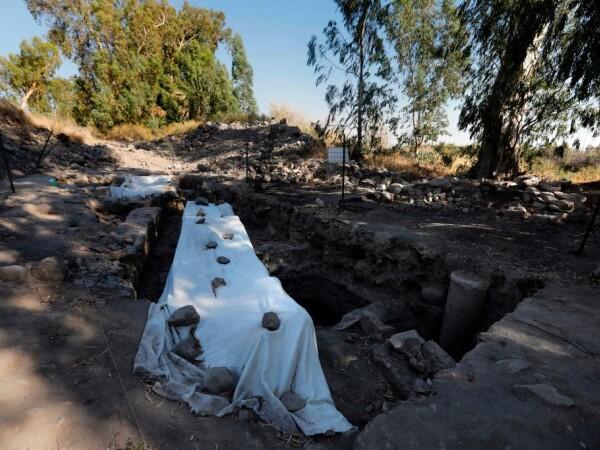 santier arheologic in Bethsaida