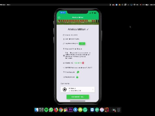 aplicatia FotbaList
