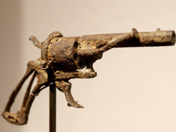 arma cu care s-a sinucis Van Gogh